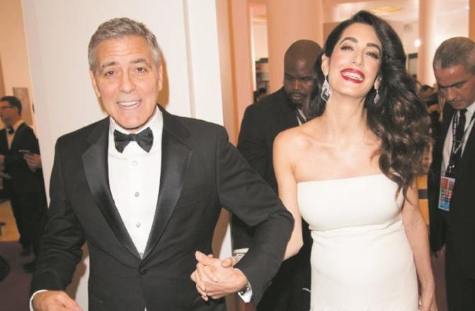 Les époux Clooney donnent 100.000 dollars pour les enfants migrants