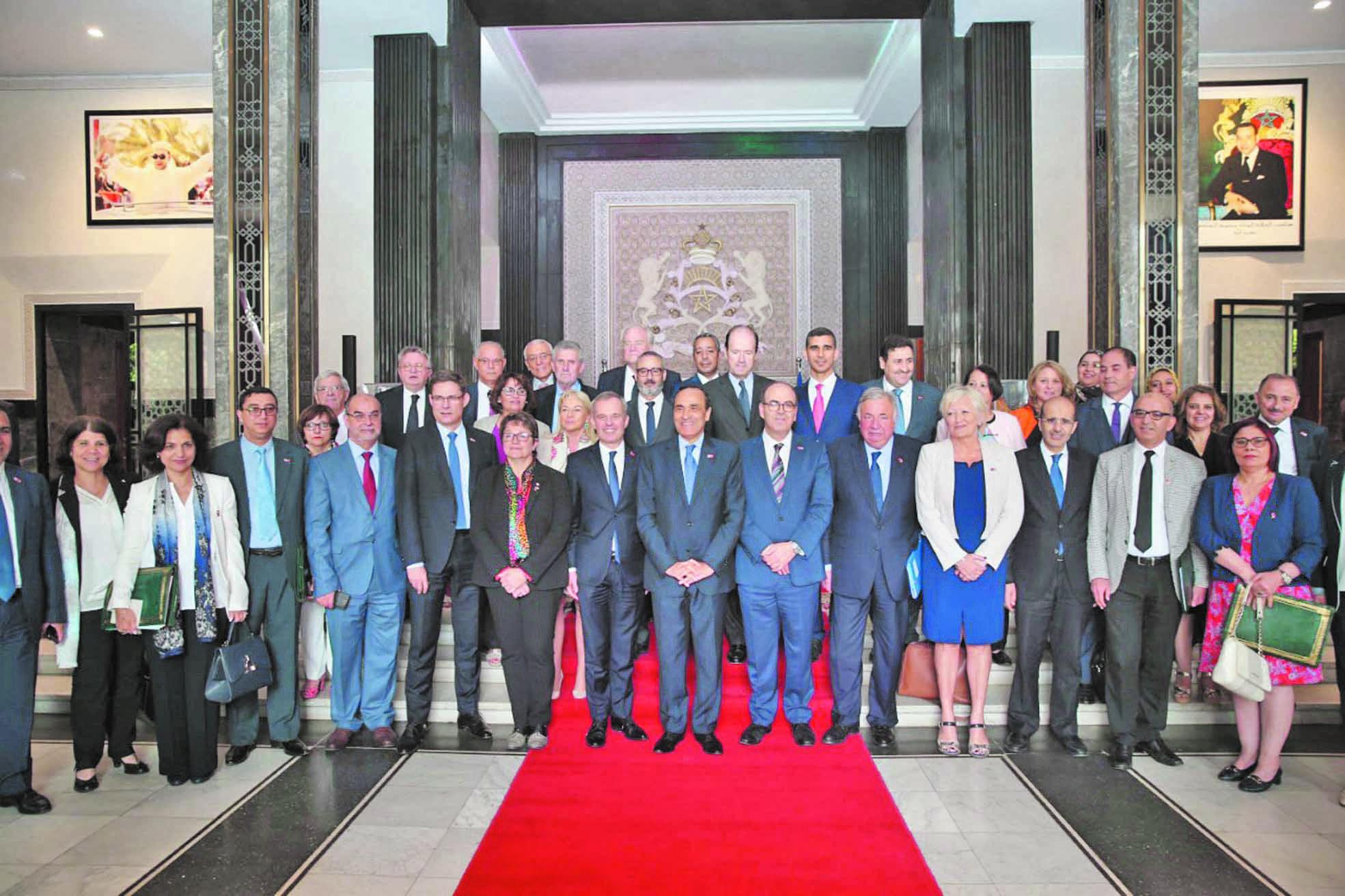 Clôture à Rabat des travaux du Forum parlementaire Maroc-France