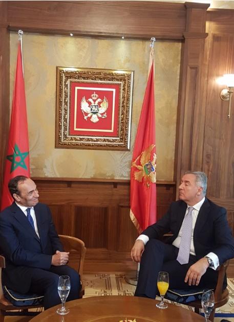 Habib El Malki reçu par Milo Djukanovic, Président du Monténégro