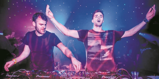 The Chainsmokers enchante le public rbati