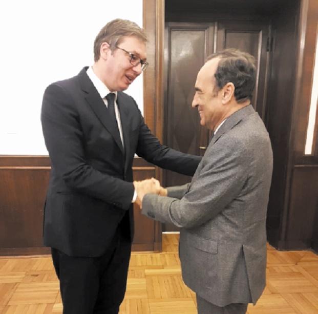 Le président serbe réitère le soutien de son pays à l'intégrité territoriale du Maroc
