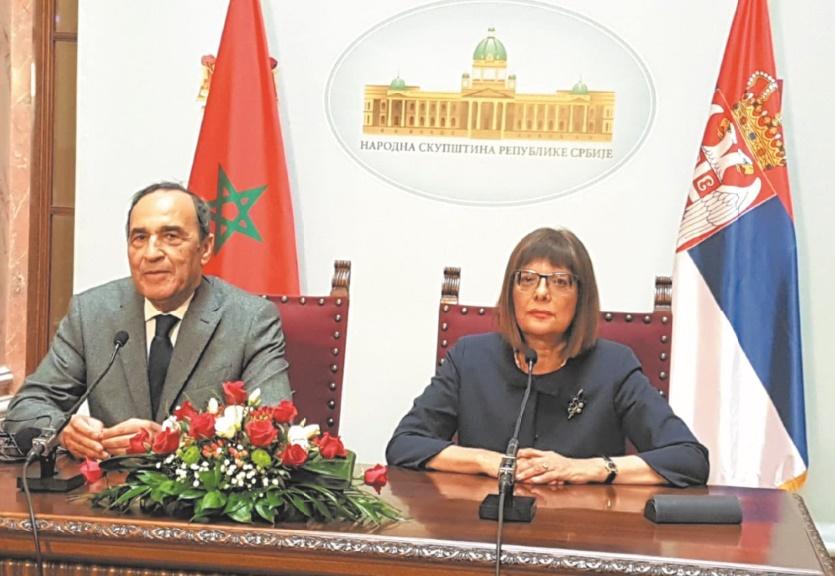 La coopération entre le Maroc et la Serbie passe à la vitesse supérieure