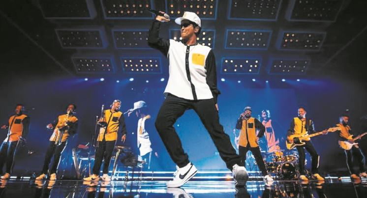 Bruno Mars donne un concert mémorable à Rabat