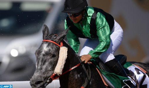 Zineb El Briouil s'adjuge le GP SAR le Prince Héritier Moulay El Hassan des courses hippiques