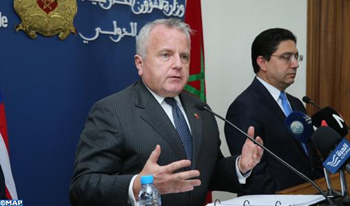 John Sullivan: Le Plan d'autonomie, une solution à la question du Sahara