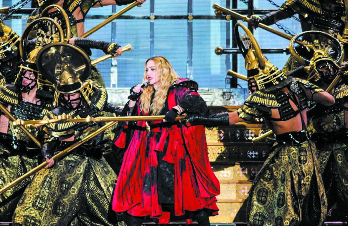 A Lisbonne, le nouveau parking de Madonna  fait polémique