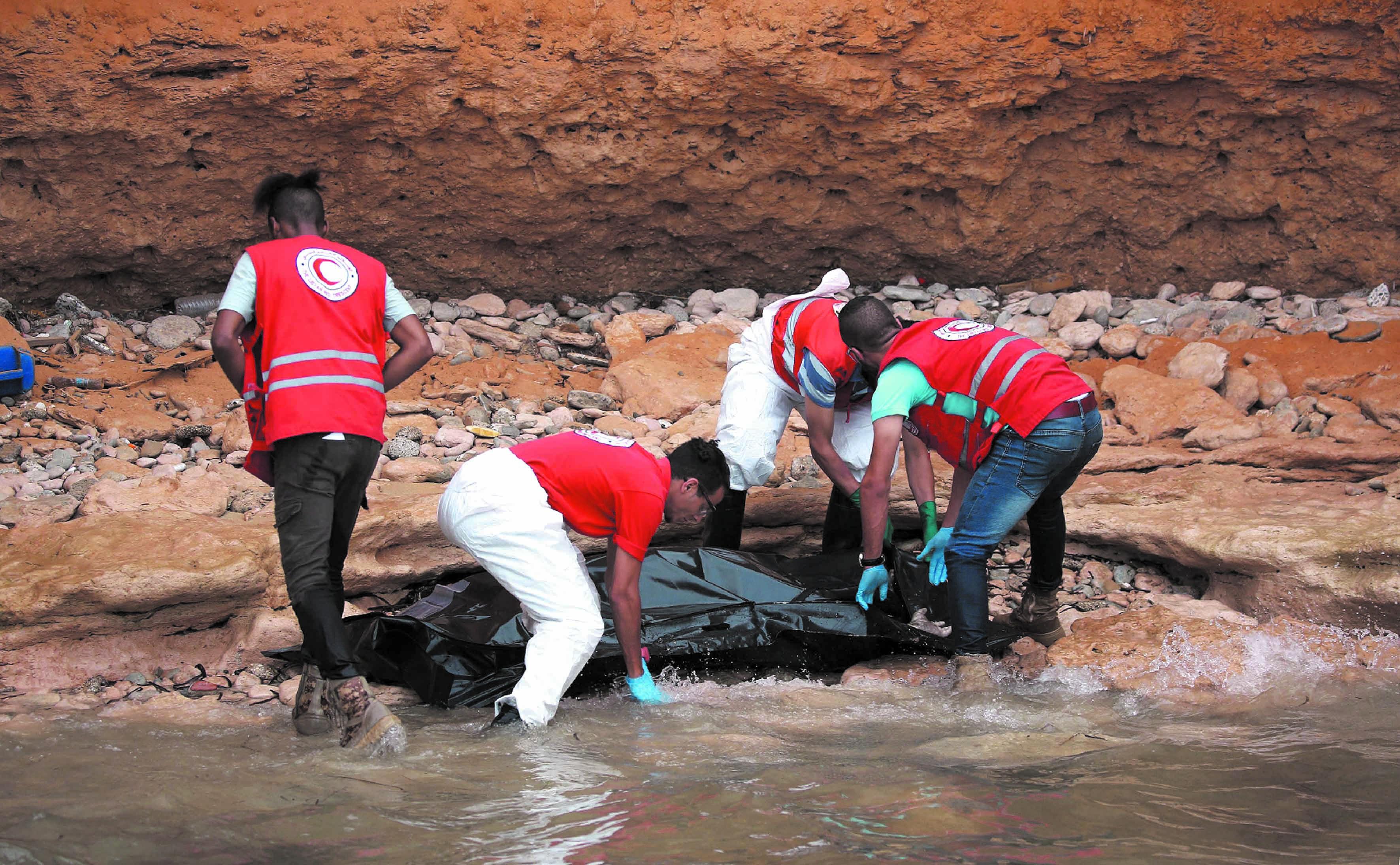 Les naufrages se multiplient au large de la Libye