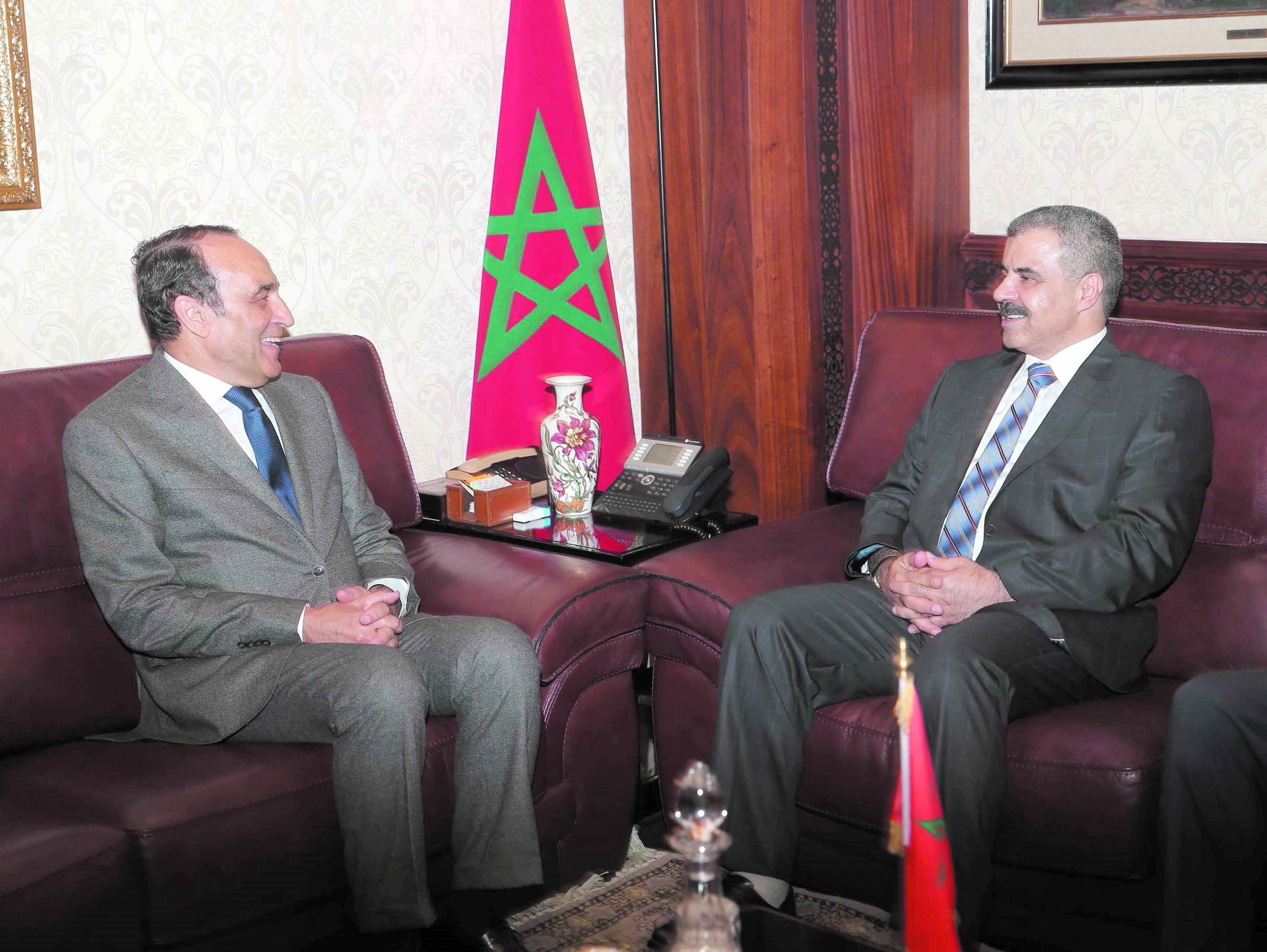 Le  soutien Royal à la cause palestinienne loué par Iyad  Tamim