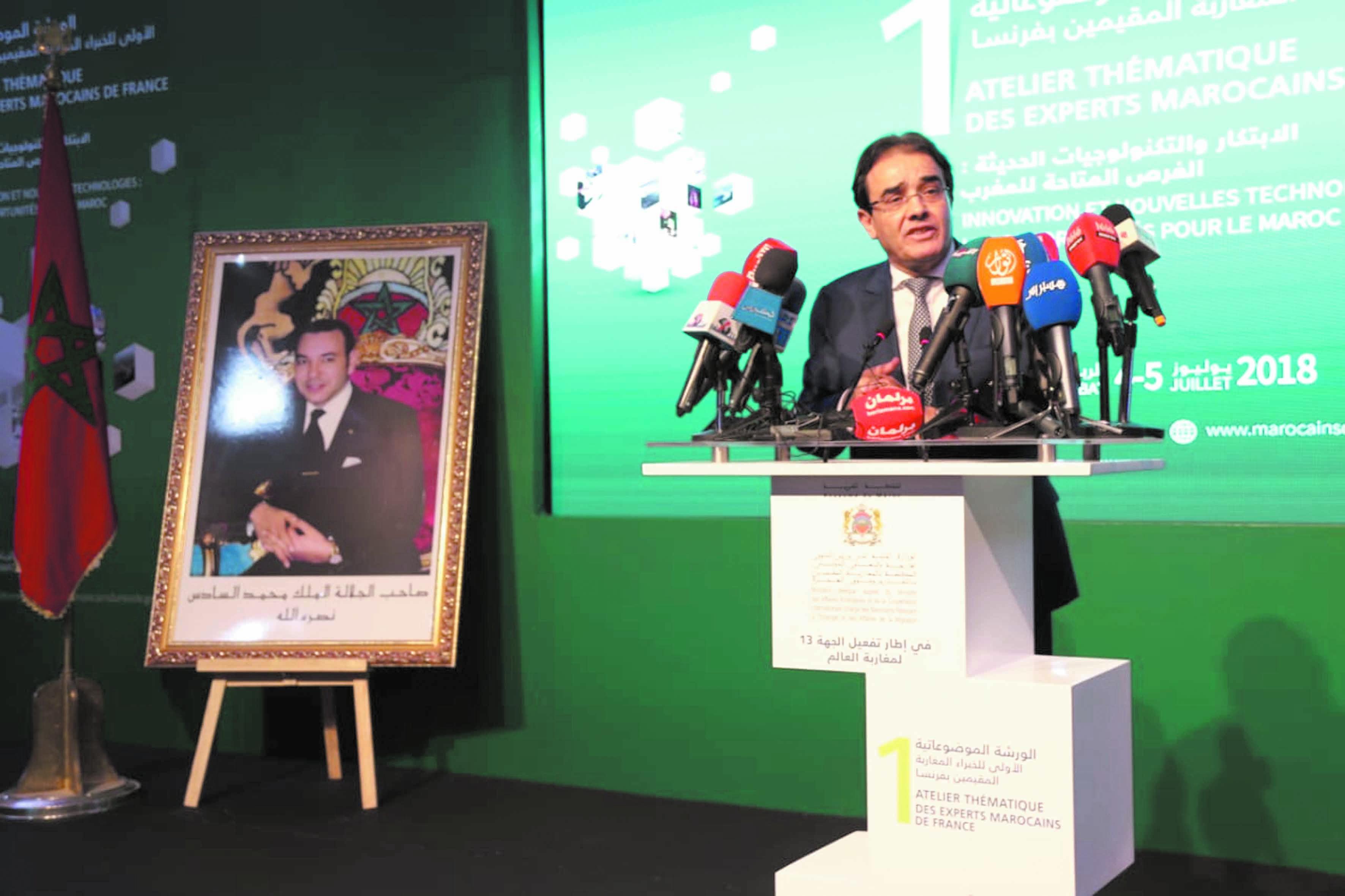 Abdelkrim Benatiq: Les Marocains de France sont une richesse inestimable pour le Maroc