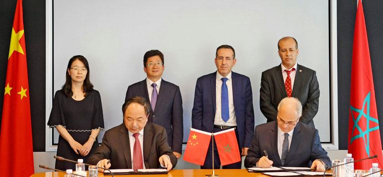 Barid Al-Maghrib signe trois conventions de coopération avec China Post Group