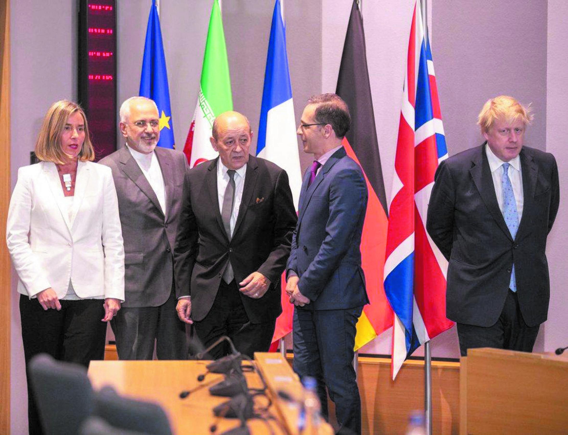Les grandes puissances font une offre à l'Iran