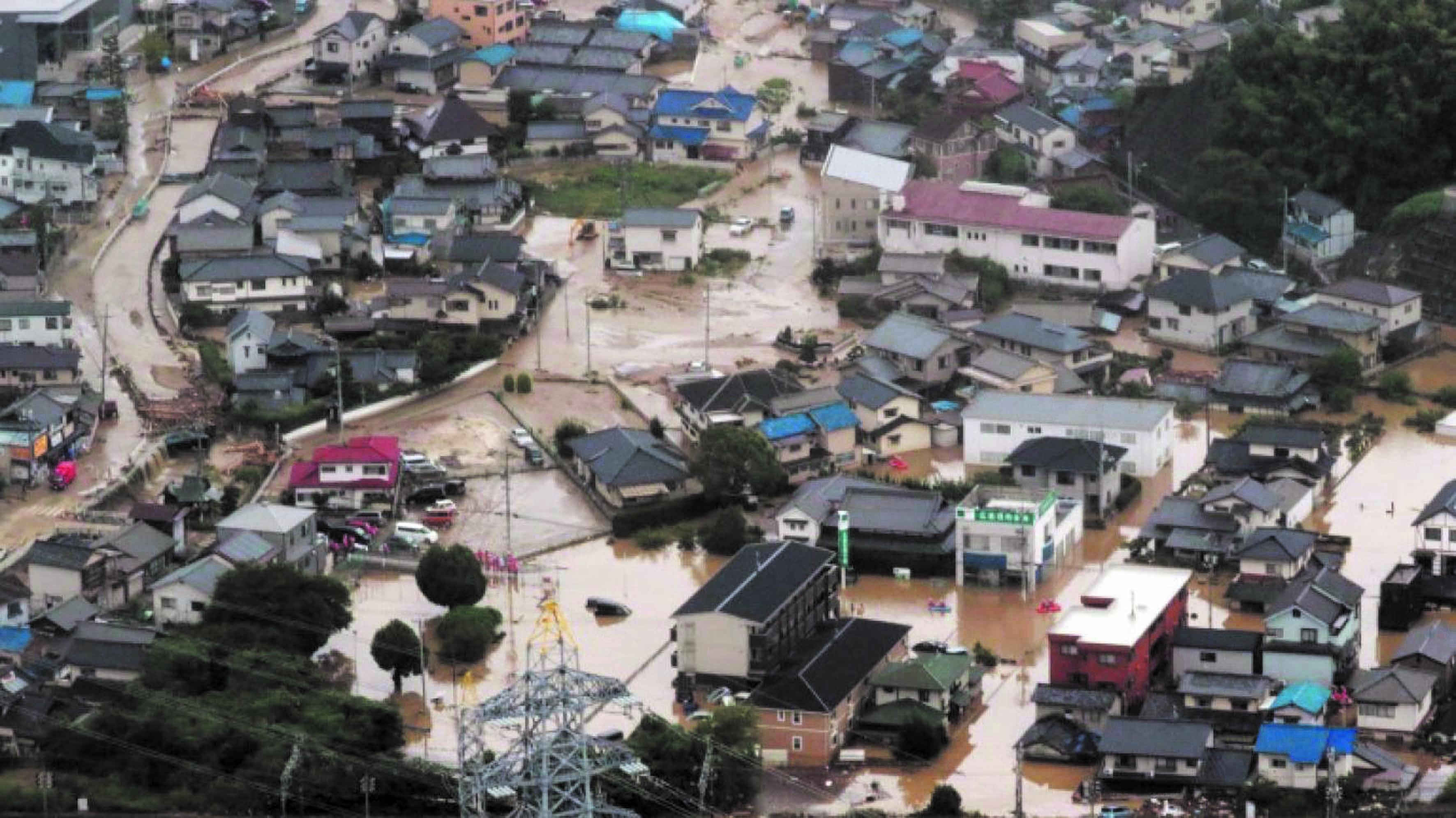Des pluies torrentielles ont fait 66 morts au Japon