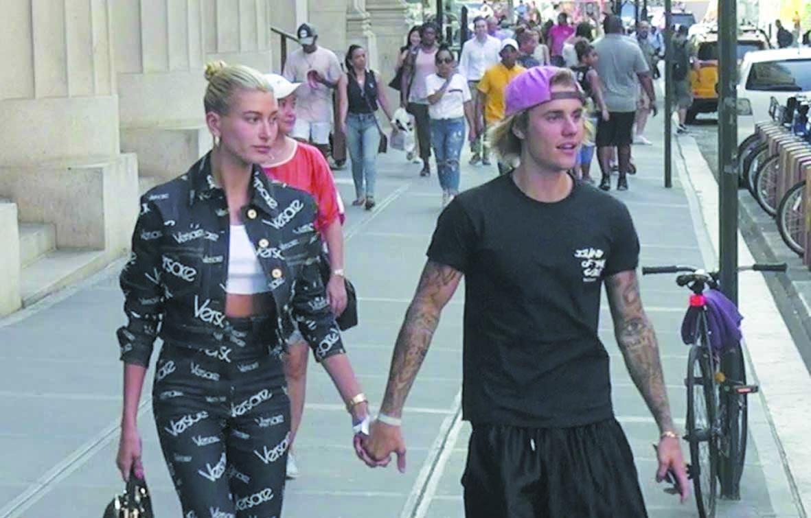 Justin Bieber fiancé au  mannequin Haley Baldwin