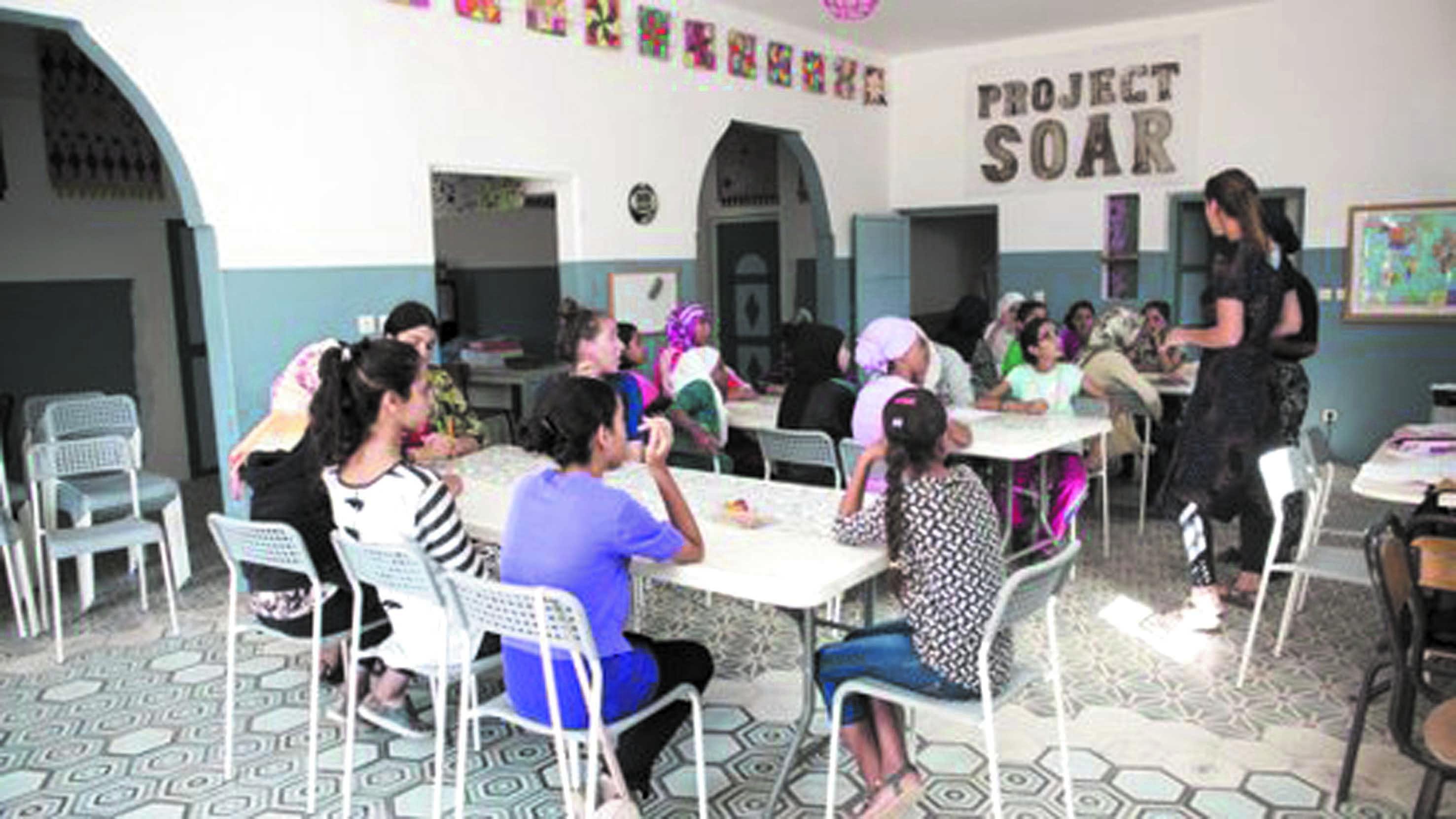 """""""Project Soar"""" ou comment renforcer les capacités de leadership des jeunes filles"""