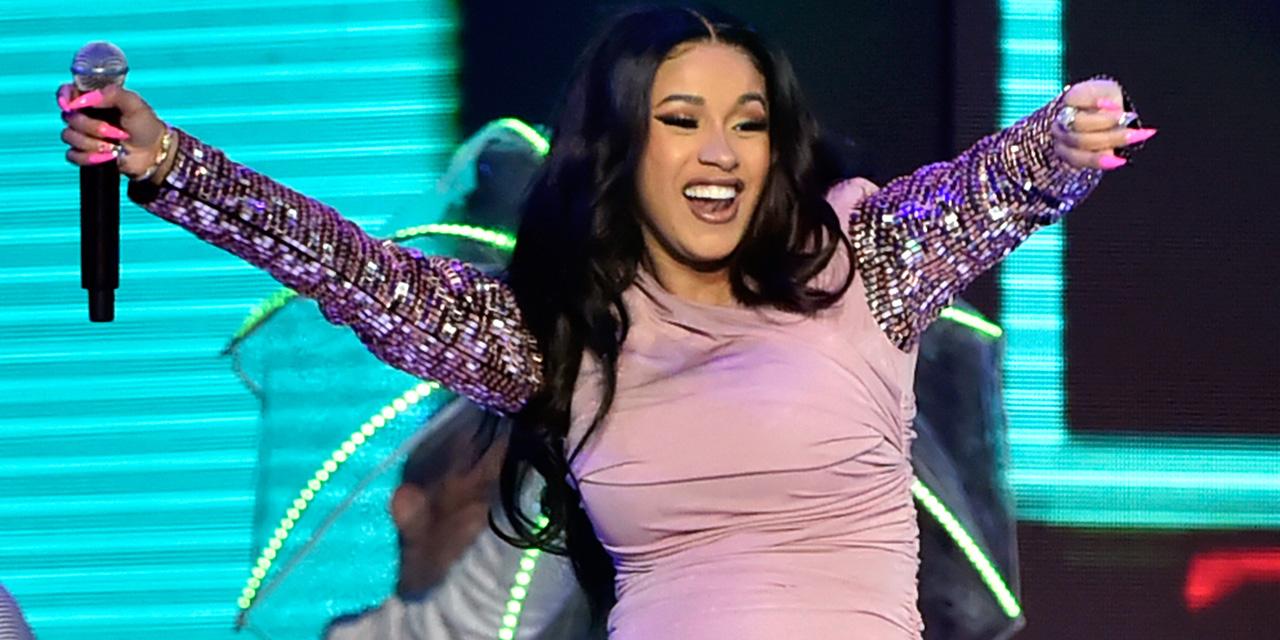 La star américaine du hip-hop Cardi B donne naissance à une fille