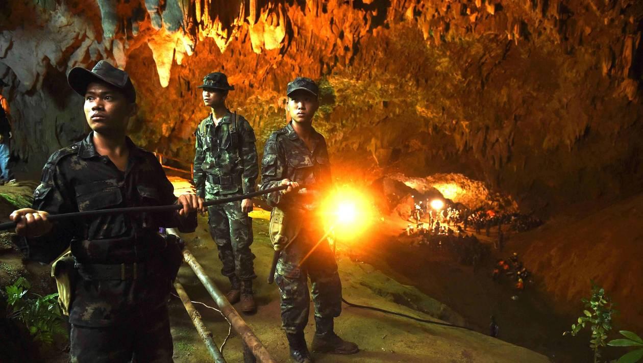 Le sauvetage des enfants de la grotte thaïlandaise bientôt à Hollywood