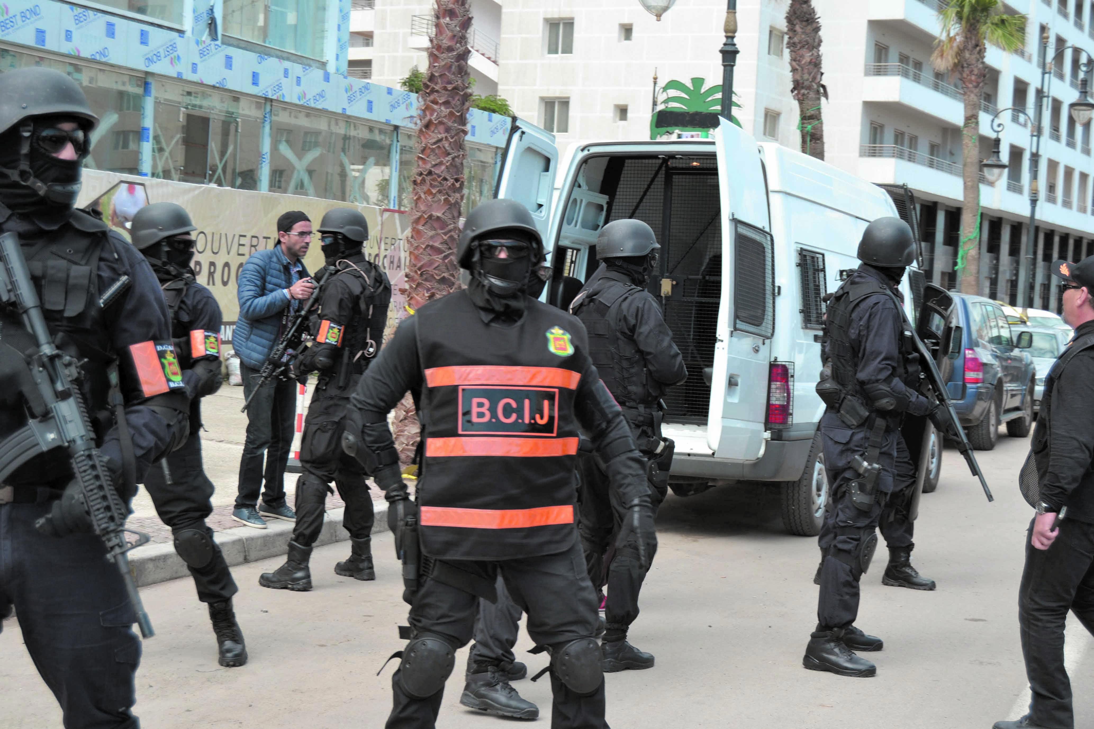 Démantèlement d'une cellule composée de sept partisans de Daech