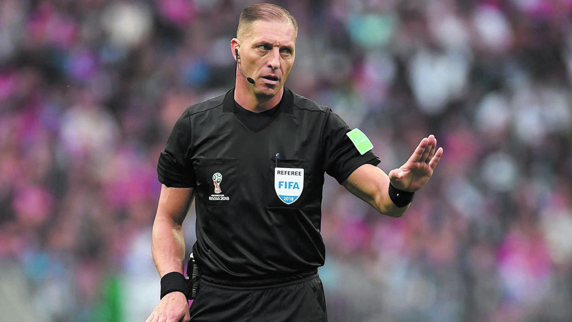Arbitrage argentin pour la finale