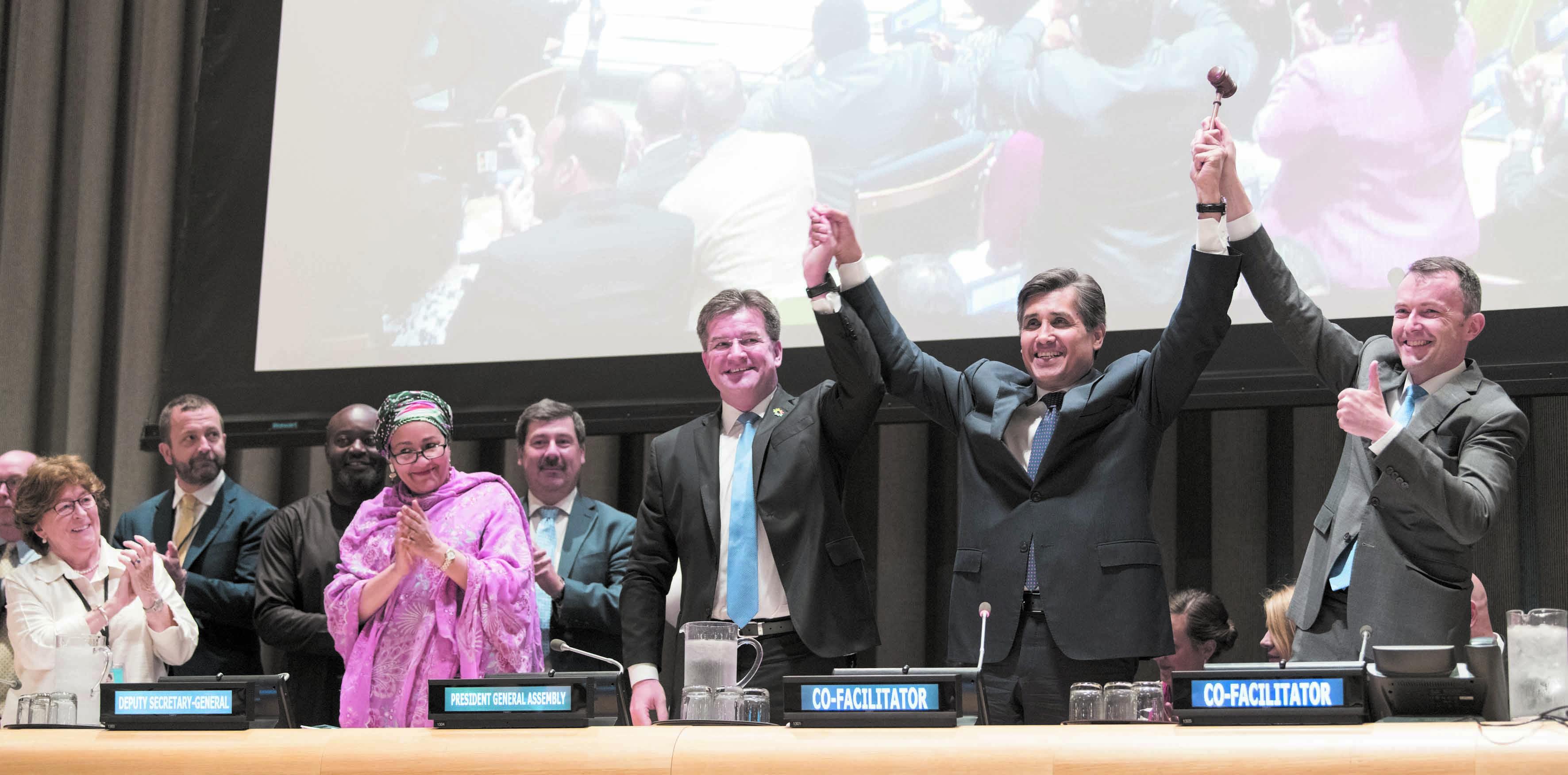 Le Pacte mondial de la migration finalisé