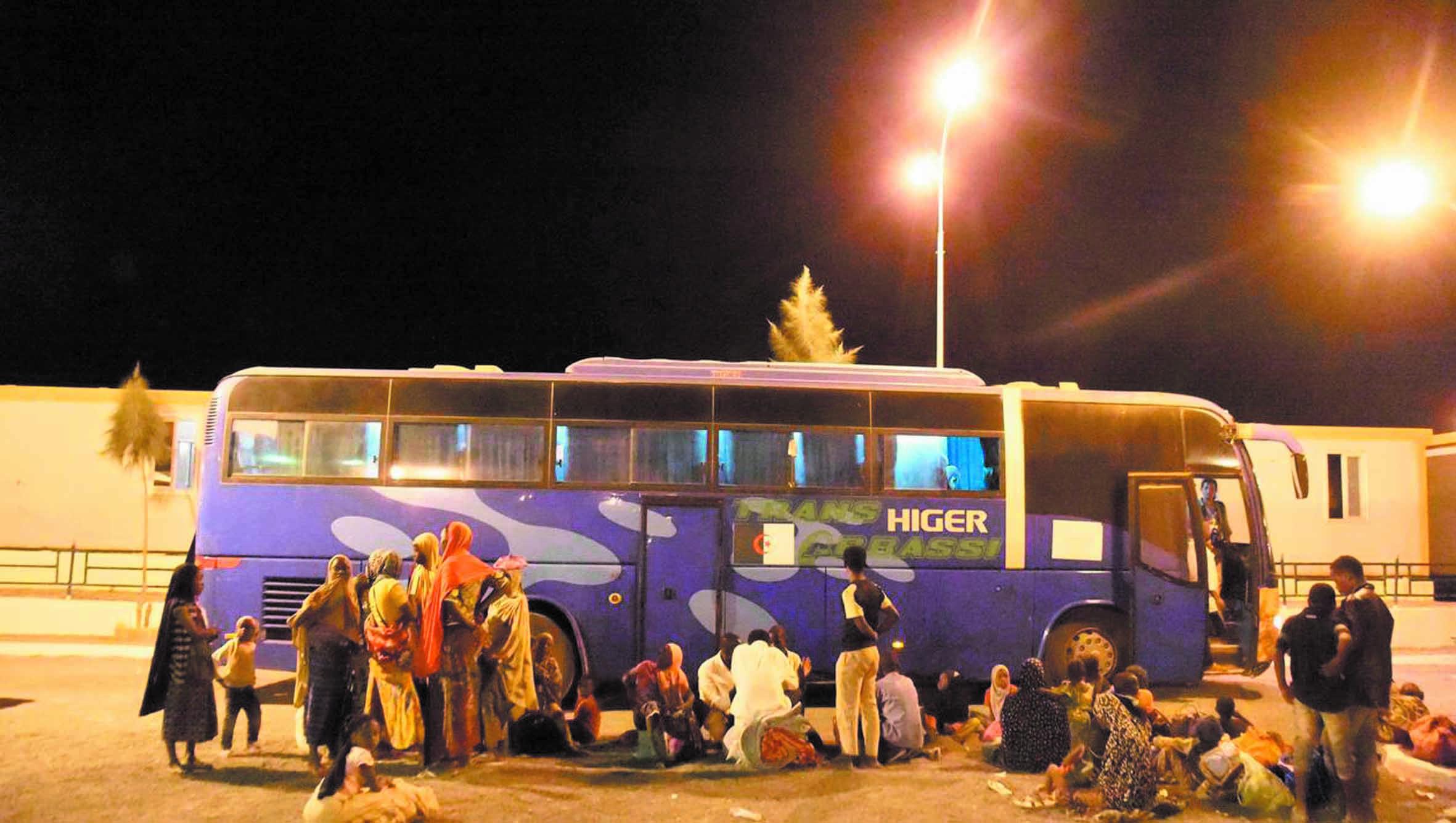 Six-cents migrants refoulés d'Algérie
