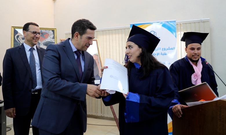 Nouvelle promotion des lauréats de la licence professionnelle en éducation préscolaire