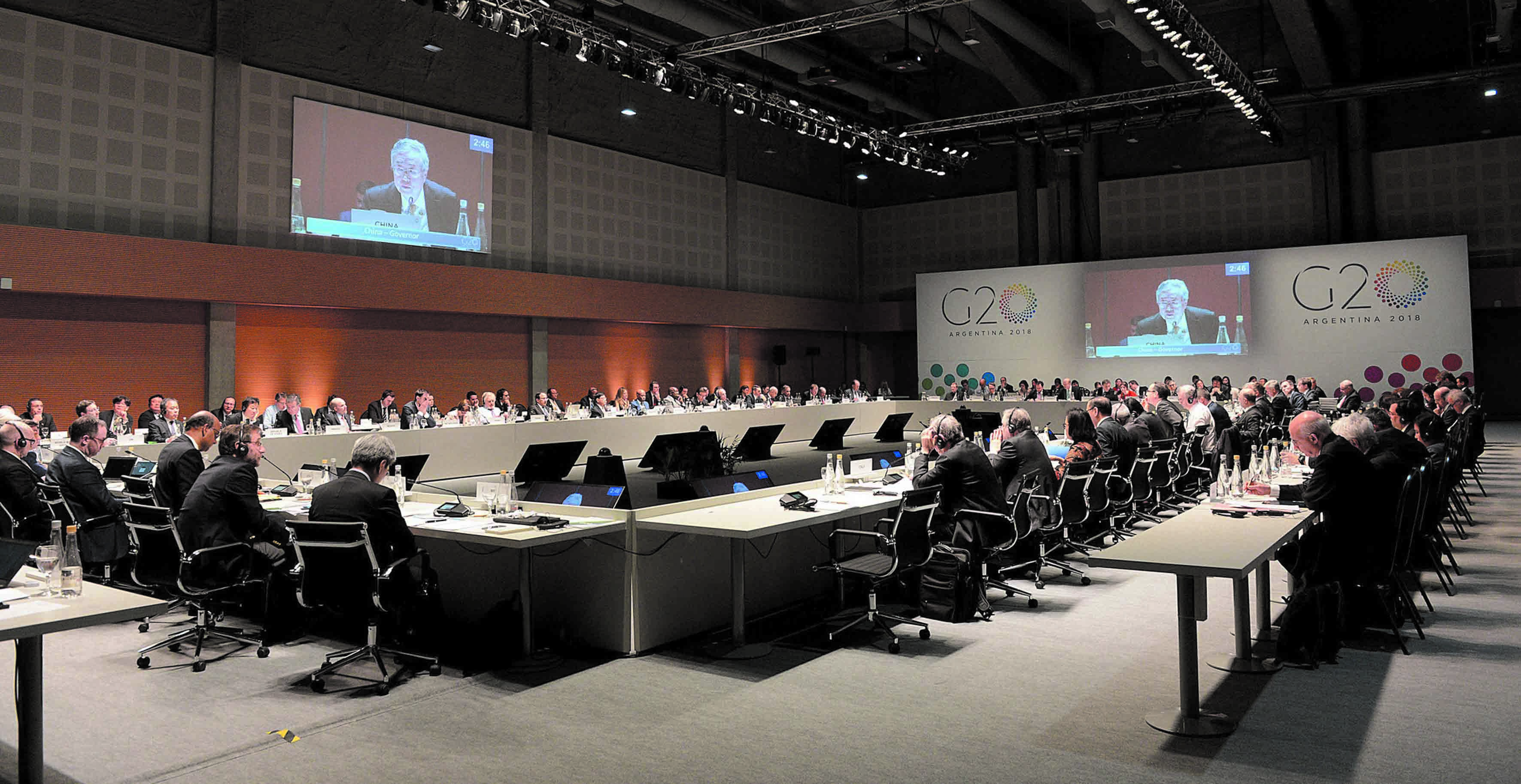 Le G20 Finances remonte  au front à Buenos Aires