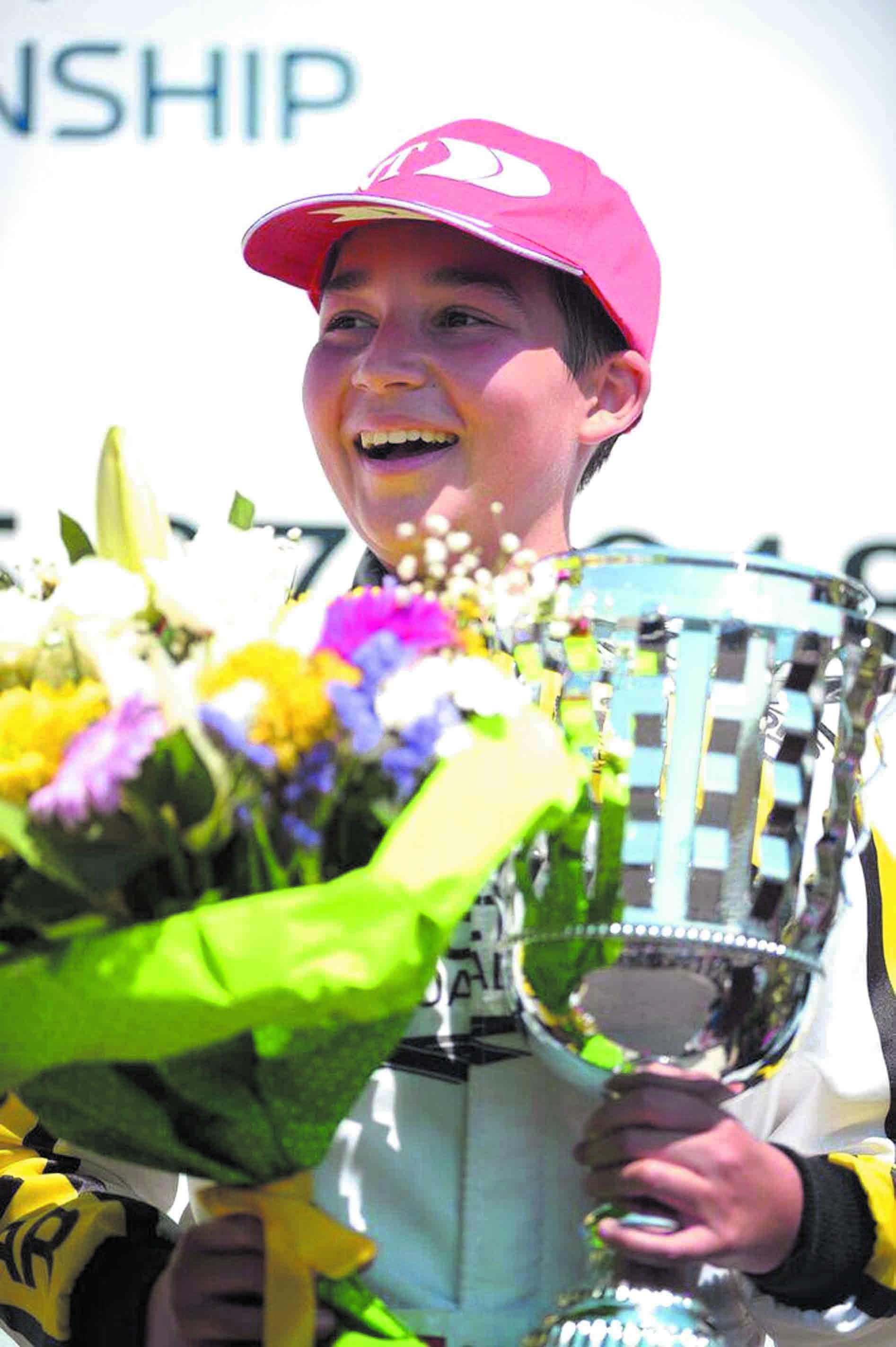 Suleiman Zanfari décroche le podium au Trophée Académie CIK-FIA