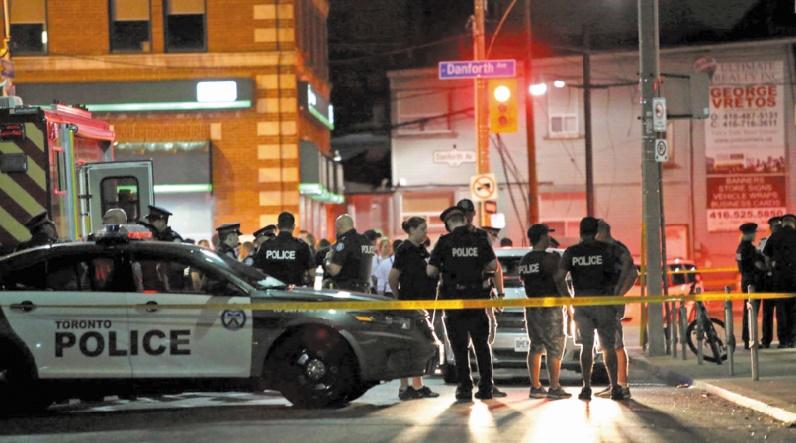Une fusillade fait deux morts à Toronto