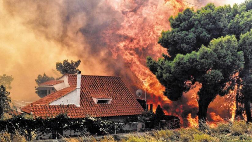 Des incendies font au moins 50 morts en Grèce