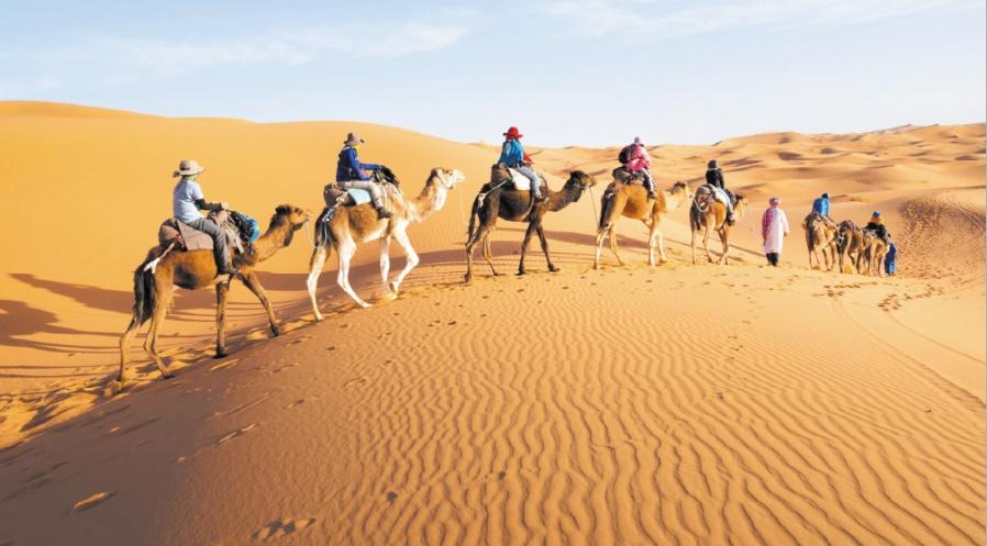 Le Sahara marocain parmi les 50 plus beaux voyages dans le monde
