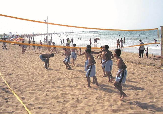 La 1ère édition du programme national sports de plage