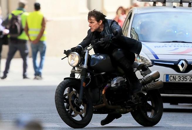 Tom Cruise : j'ai adoré rouler à fond la caisse dans les rues parisiennes