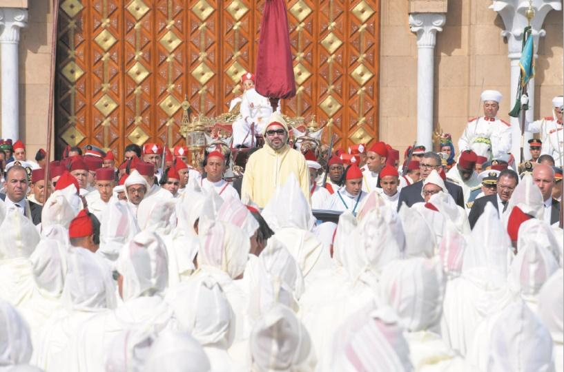 S.M le Roi préside la cérémonie d'allégeance