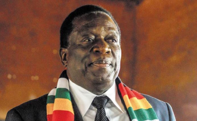 """Mnangagwa appelle à résoudre """"pacifiquement les différends"""" avec l'opposition zimbabwéenne"""