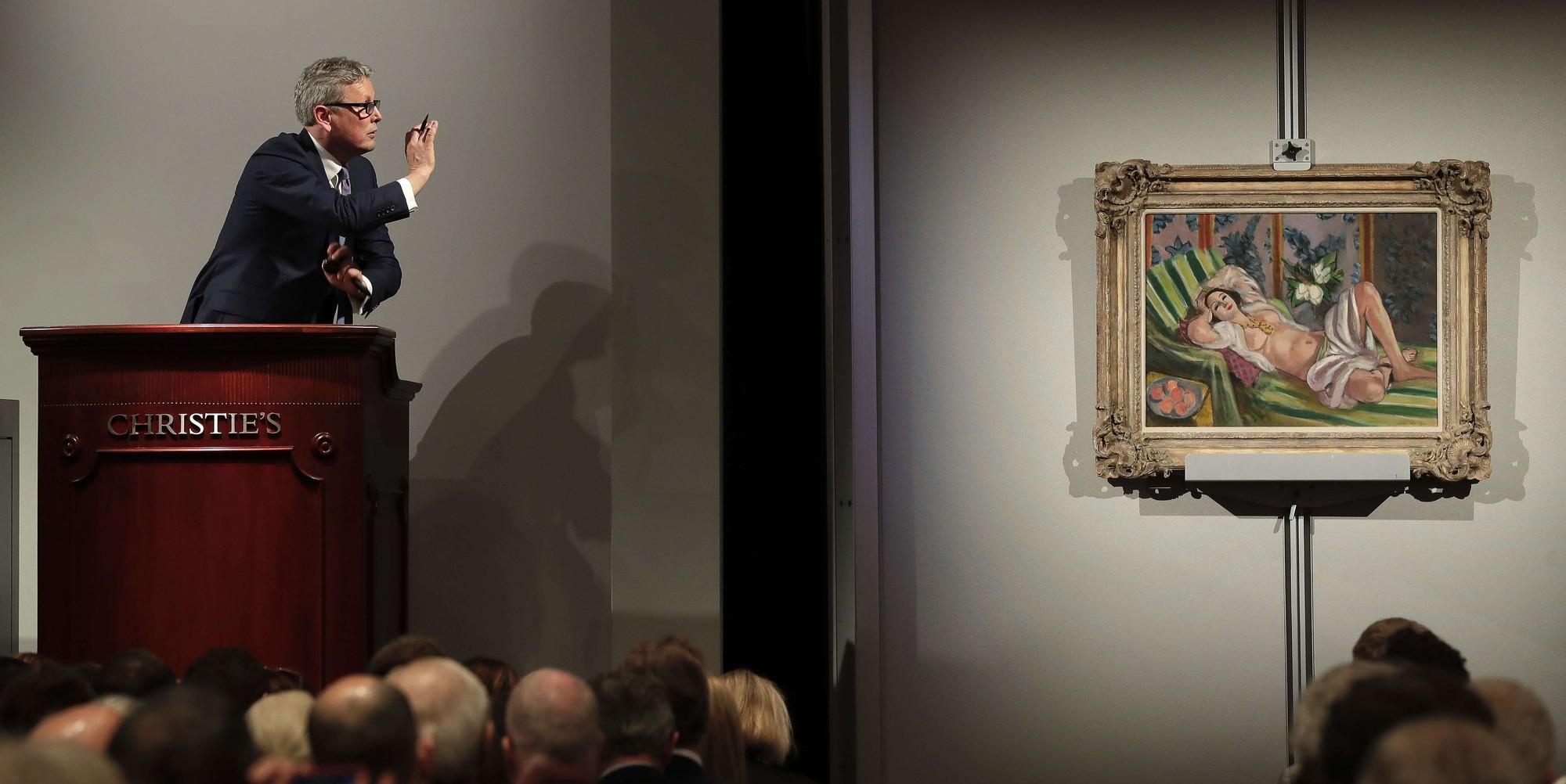 Le marché de l'art  en pleine forme grâce aux nouveaux musées