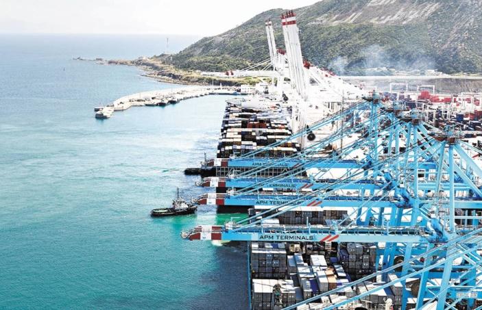 Tanger-Med, premier port à conteneurs en Afrique