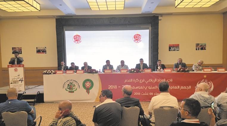 AG des plus ordinaires du WAC : Naciri rempile à la présidence