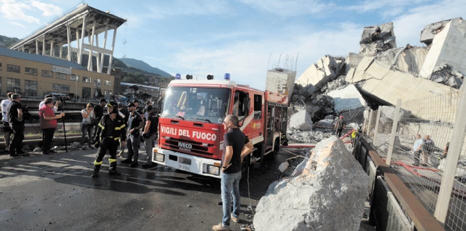 Au moins 38 morts dans la catastrophe de Gênes