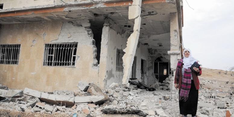 Dans la Syrie en guerre, de l'aide russe pour survivre