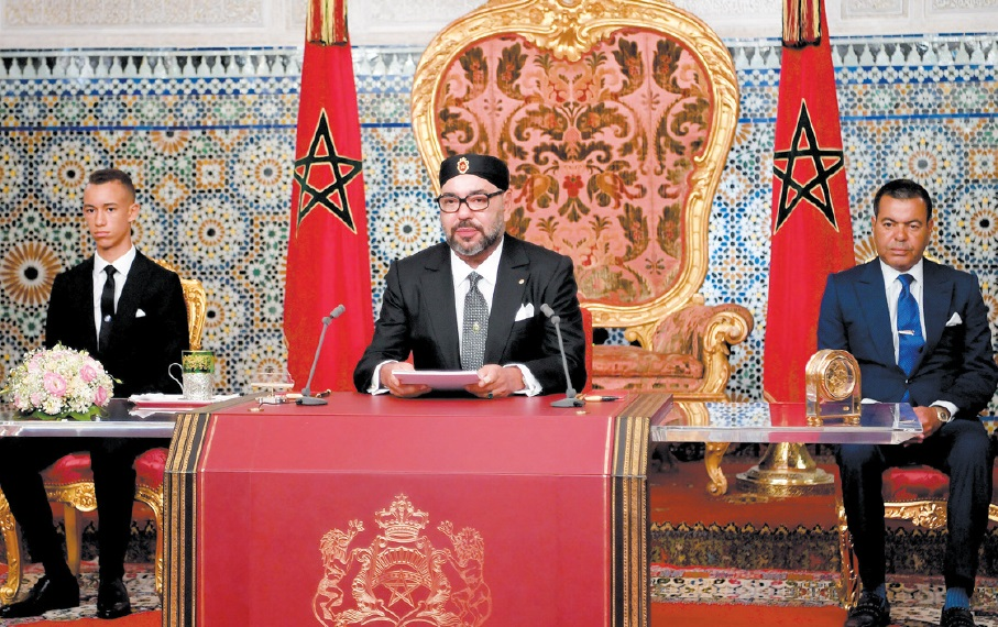 Discours de S.M le Roi à la Nation à l'occasion du 65ème anniversaire de la Révolution du Roi et du Peuple : Chaque citoyen a droit aux mêmes opportunités et aux mêmes chances d'accès à un enseignement de qualité et à un emploi digne