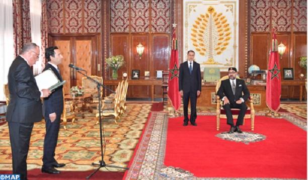 S.M le Roi nomme Mohamed Benchaaboun ministre de l'Economie et des Finances
