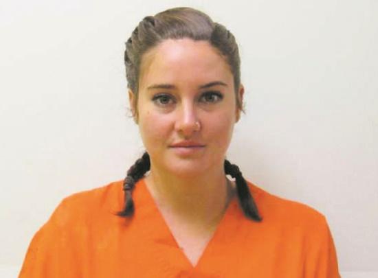 Quand les stars se font tirer le portrait en prison !  Shailene Woodley