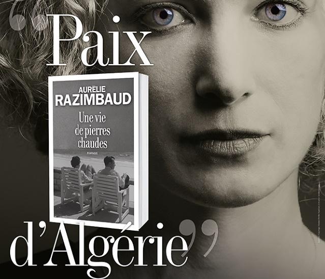 """""""Une vie de pierres chaudes"""" Premier roman abouti d'Aurélie Razimbaud"""