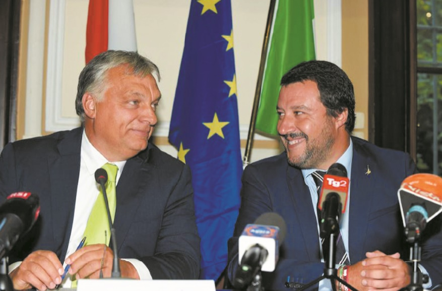 Rome et Budapest unis dans une approche dure sur les migrants