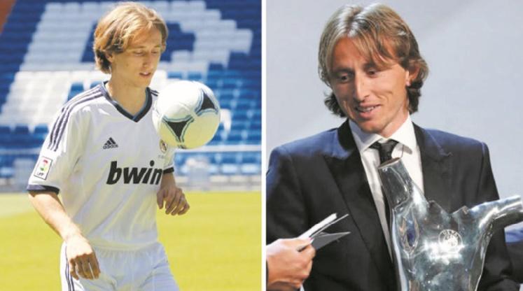 Luka Modric nommé joueur UEFA
