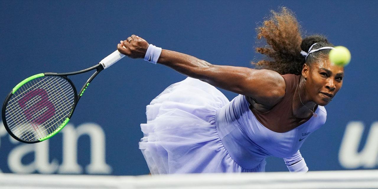 Serena s'emporte contre l'arbitre à l'US Open