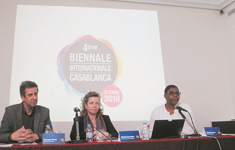 Une quarantaine d'artistes attendus à la 4ème Biennale internationale de Casablanca