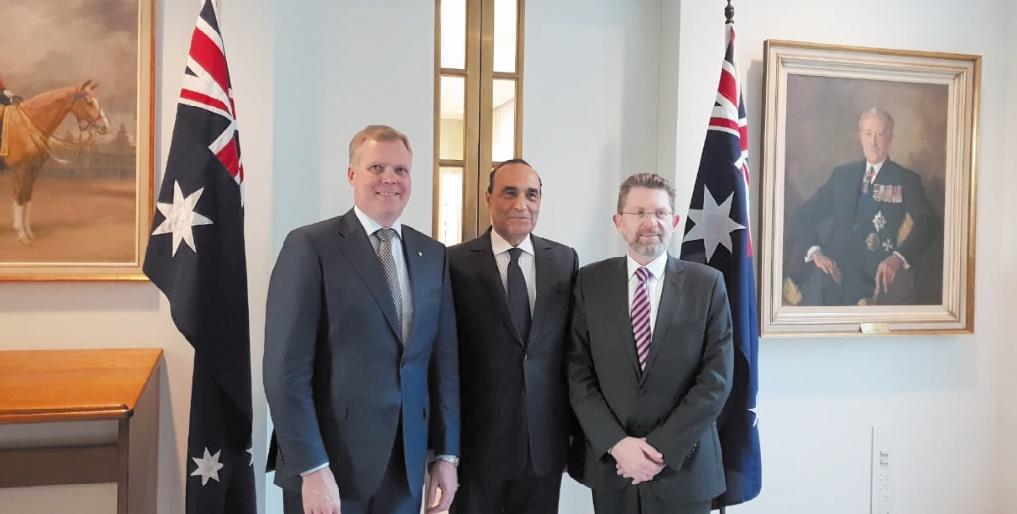 Volonté commune du Maroc et de l'Australie de bâtir une relation solide et durable