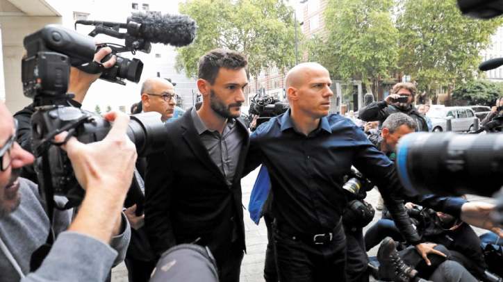 Condamnation de Hugo Lloris