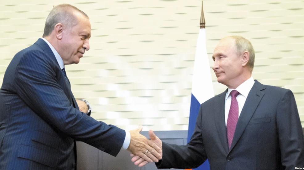 Poutine et Erdogan évitent un assaut sur Idleb avec une zone démilitarisée